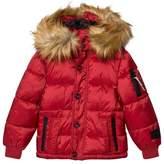 Diadora Red Sun Valley Piumino corto Nylon Hooded Jacket