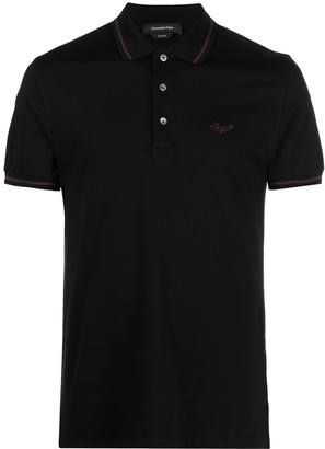 Ermenegildo Zegna Logo-Embroidered Polo Shirt