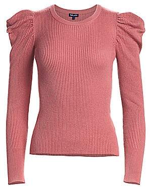 Splendid Women's Puff-Sleeve Sweater