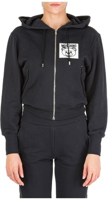 Moschino Teddy Patch Hooded Jacket