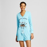 Sesame Street Women's Cookie Monster Snack Attack Pajama Romper