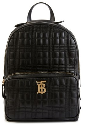 Burberry TB leather backpack