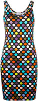 Givenchy polka dot printed dress - women - Spandex/Elastane/Viscose - 38