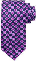 Stefano Ricci Large Flower Printed Silk Tie