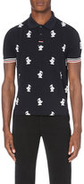 Moncler Gamme Bleu Duck-embroidered Cotton-piqué Polo Shirt