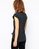 Rock & Religion Ghetto Distressed Embellished T-Shirt