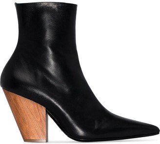 Simon Miller Pack 100mm leather ankle boots