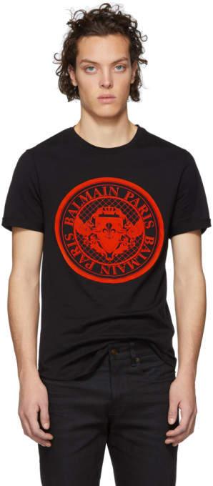 fbbf563e Balmain Men's Tshirts - ShopStyle