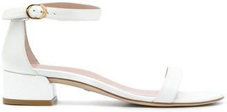 Stuart Weitzman low-block heel sandals