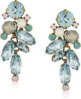 "Sorrelli Washed Pastels"" Round and Navette Crystal Drop Earrings"