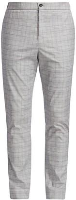 Nominee Elastic-Waist Plaid Pants