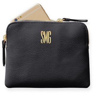 Mark And Graham Everyday Italian Leather Mini Zipper Pouch