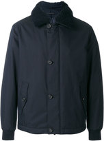 Z Zegna fur collar jacket - men - Cotton/Sheep Skin/Shearling/Polyester/Polyimide - M