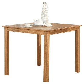 Charlton Home Songer Counter Height Pub Table Table Color: Natural Oak