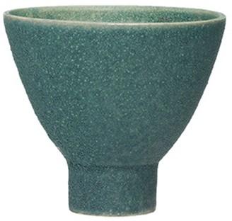Creative Co-op Teal Reactive Glaze Stoneware Planter