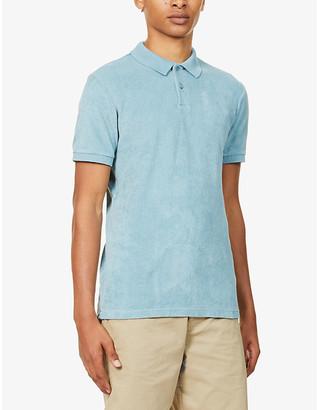Orlebar Brown Jarrett terry cotton polo shirt