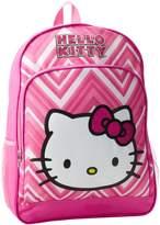 FAB Starpoint Girls 2-6X Hello Kitty 16 Inch Zig Zag Backpack