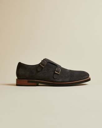 Ted Baker Suede Monk Shoes
