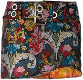 Marques Almeida Marques'almeida - asymmetric floral print skirt - women - Polyester - 4