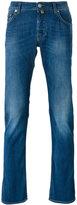 Jacob Cohen stonewashed slim-fit jeans - men - Cotton/Polyester/Spandex/Elastane/Viscose - 30