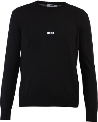 MSGM Logo Embroidered Pullover