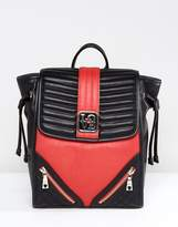 Love Moschino Backpack With Zip Detail