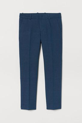 H&M Textured Suit Pants