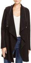 BB Dakota Hooded Draped Jacket