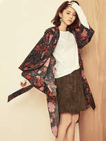 Blank Autumn Flower Robe-rd