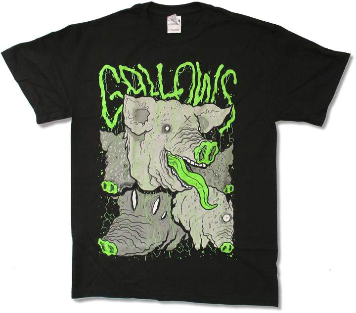 Gildan Adult Gallows Pig T-Shirt