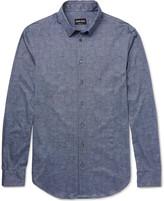 Giorgio Armani - Slim-fit Printed Cotton Shirt