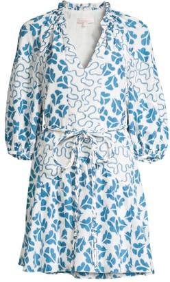 Rebecca Taylor Perla Petal Silk Dress