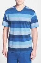 Majestic International Men's Pique Cotton V-Neck T-Shirt