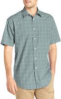 Van Heusen Short-Sleeve No-Iron Woven Shirt