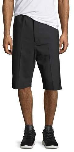 Neil Barrett Side-Strike Drop-Crotch Shorts