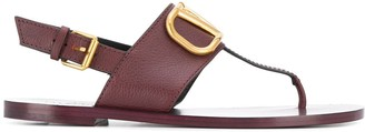 Valentino Garavani VLOGO flat sandals
