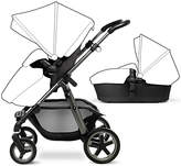 Silver Cross Pioneer Seat, Chassis and Carrycot, Graphite