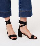 LOFT Ankle Wrap Block Heels