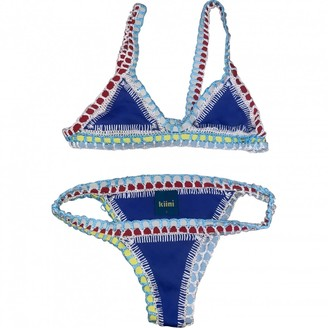 Kiini Blue Cotton - elasthane Swimwear