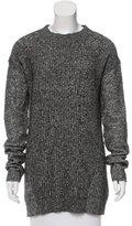 Derek Lam 10 Crosby Long Sleeve Mélange Sweater