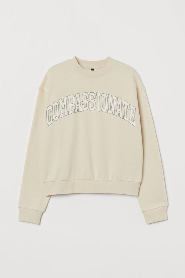 H&M Sweatshirt - Beige