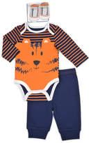 Vitamins Baby Baby Boy Graphic Bodysuit, Pants & Socks Set
