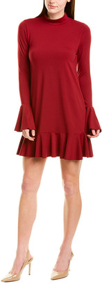 Susana Monaco Ruffle Shift Dress
