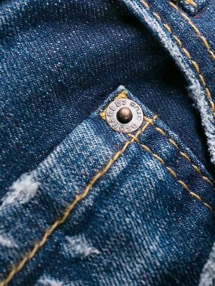DSQUARED2 Paint Splatter Stonewashed Jeans