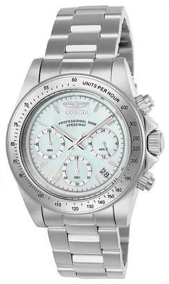 Invicta Speedway Mens Silver Tone Stainless Steel Bracelet Watch-24768