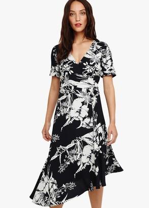 Phase Eight Evadine Printed Wrap Dress