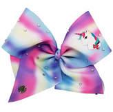 Impulse JoJo Siwa Large Signature Hair Bow w/Rhinestones Pastel Rainbow