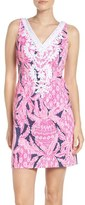 Lilly Pulitzer Gabby Embroidered Sheath Dress