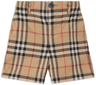 Burberry Kids Vintage Check Shorts