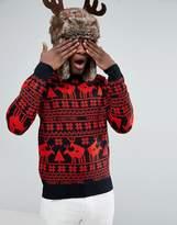 D-Struct Naughty Fairsile Christmas Jumper